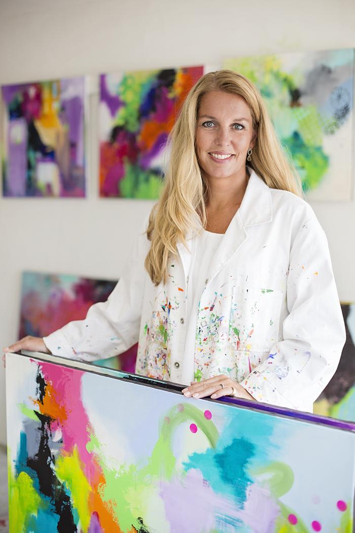 Abstrakt Kunst Til Salg malerier Århus ✅ se abstrakte malerier i galleri i Århus